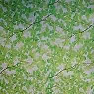Elegant Grass Green Days Under The Spring Tree Window Film