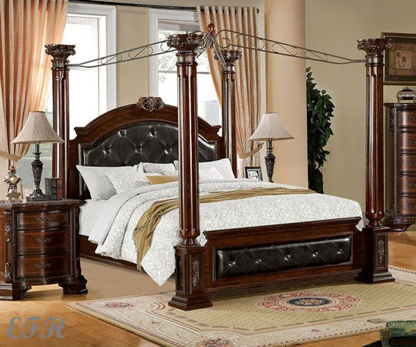 Charming King Size Canopy Bed Frames Uraz   Bed Create