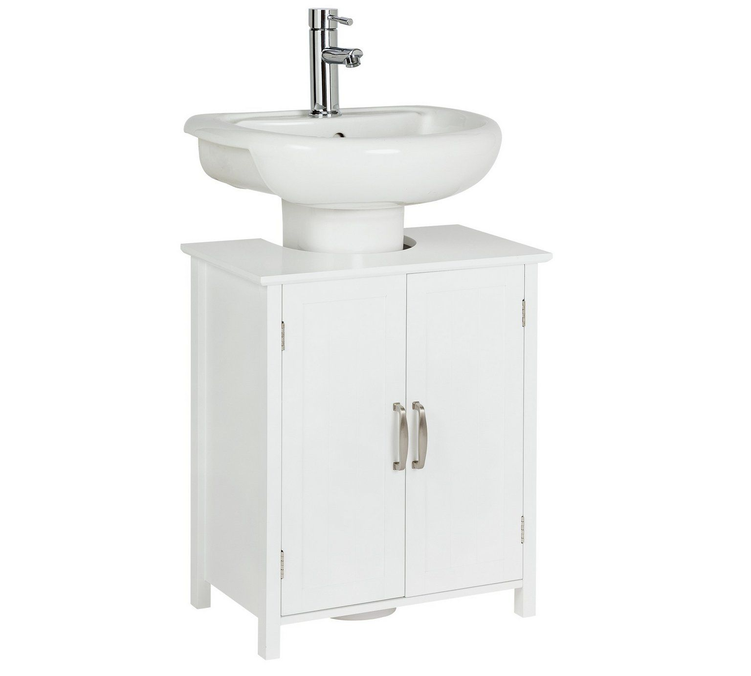 Buy Collection Tongue and Groove Undersink Storage Unit - White at ...