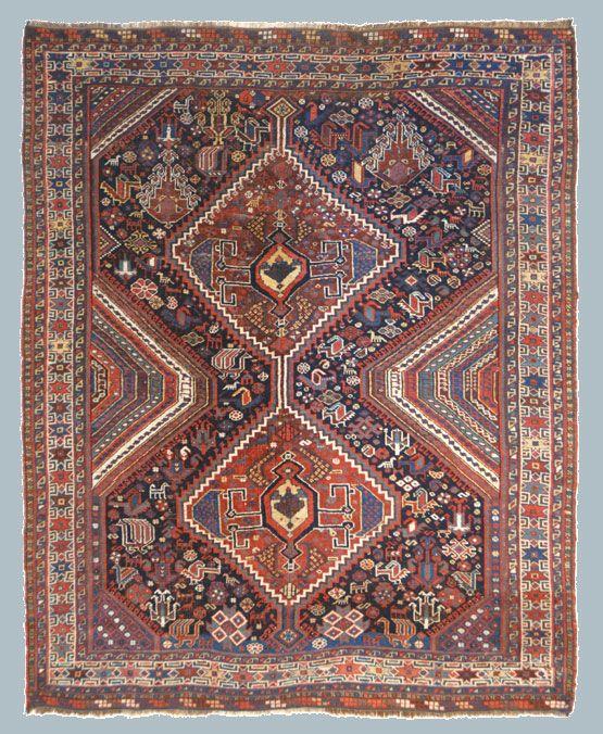 KAMSEH Tappeti, Tappeti antichi, Tappeto persiano