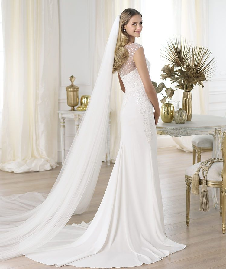 Pronovias Real Wedding Inspiration: Pronovias Presents The Lennie Wedding Dress. Fashion 2014