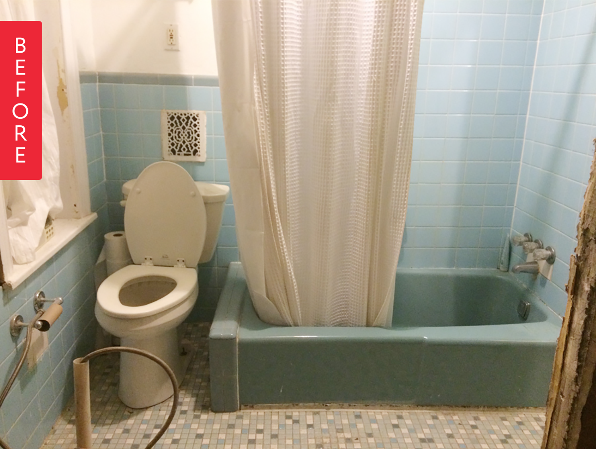 This Bathroom Gets A Fresh Update While Maintaining The