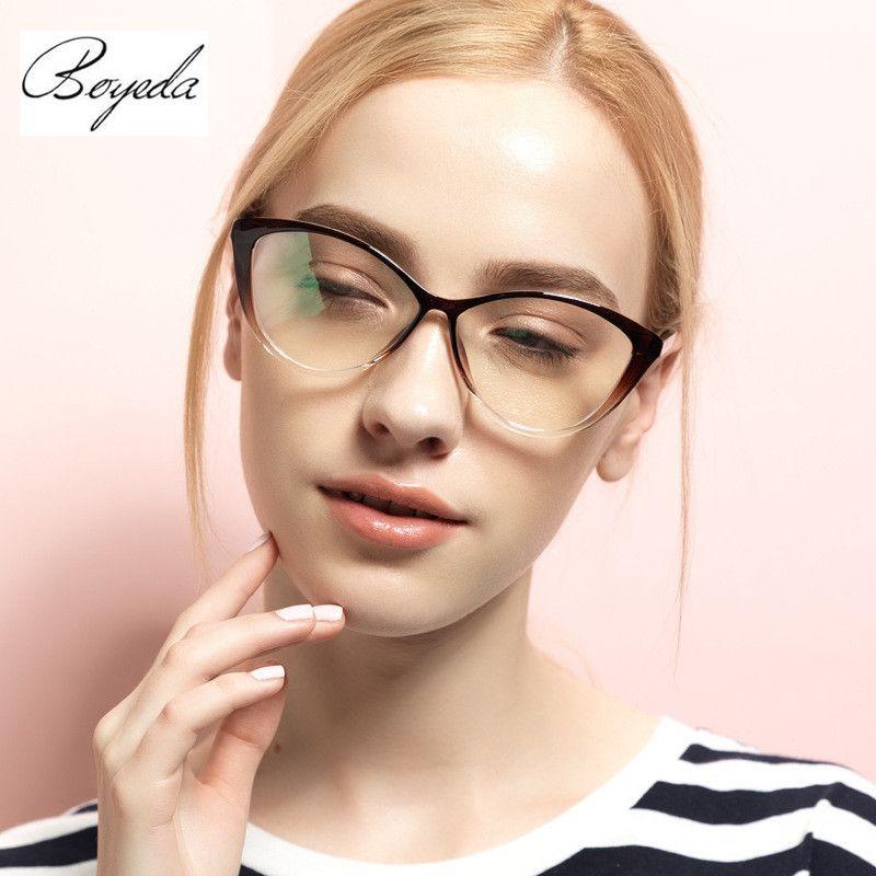 Tr90 Female Grade Glasses Frame Hipster Vintage Computer