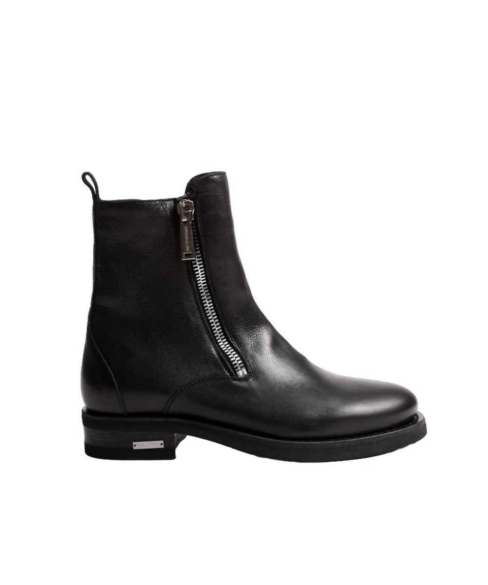 Dsquared2 · DSQUARED2 Dsquared2 Men'S Black Leather Ankle Boots'.