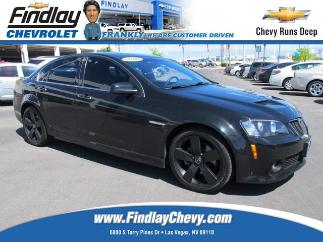 Used 2009 Pontiac G8 Gt In Las Vegas Nv Area Findlay Chevrolet