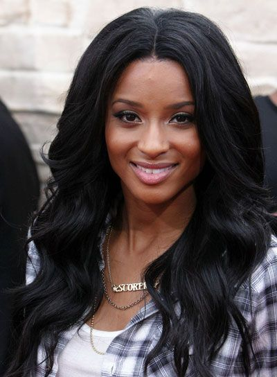 Imagesbeautyriot Photos Ciara Long Black HairstylesGirl HairstylesLong Wavy