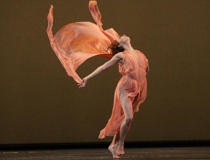 Tamara Rojo in Five Brahms Waltzes, by the Royal Ballet, 2004  Picture: ALASTAIR MUIR