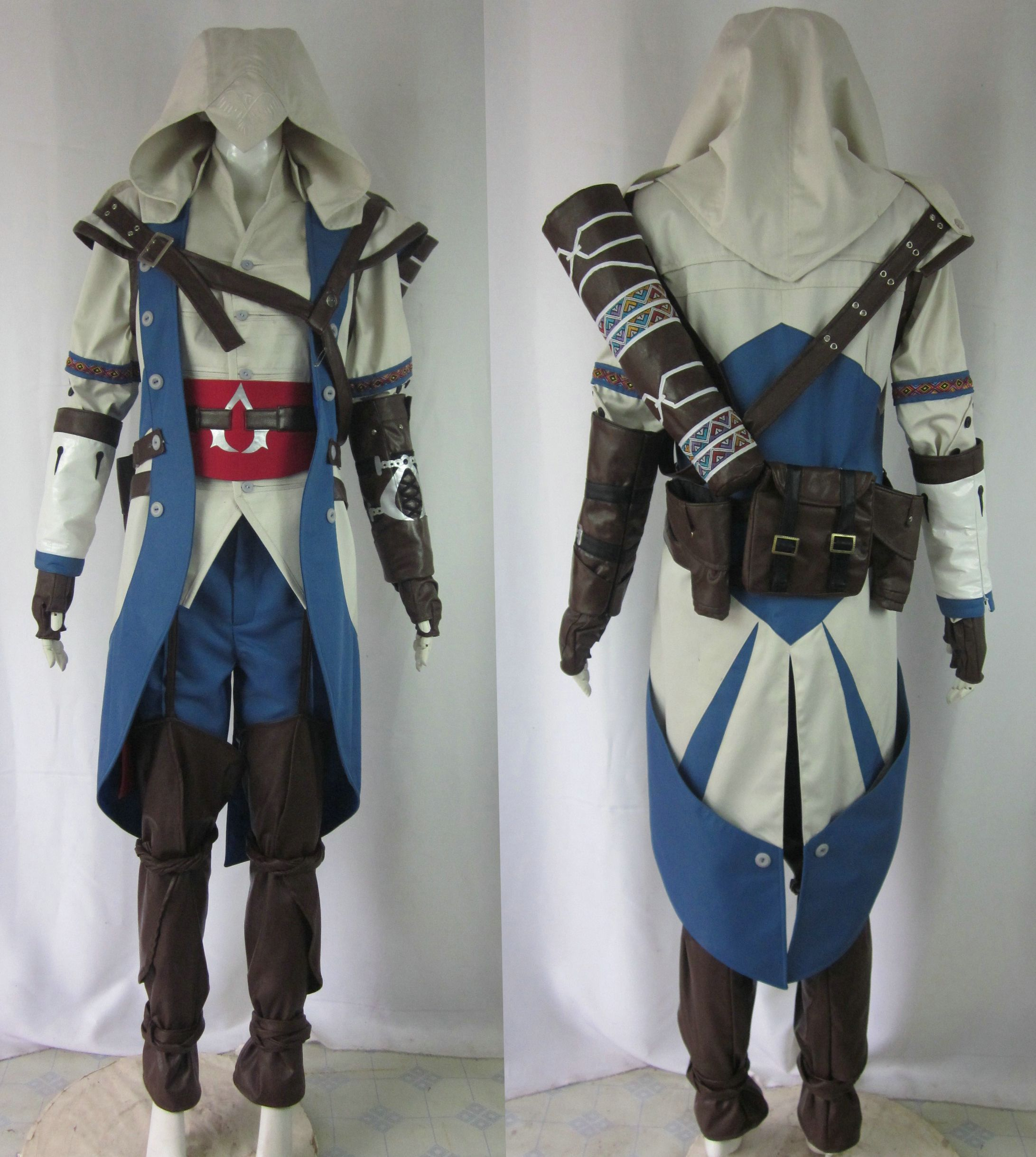 Assassin S Creed Iii Connor Kenway Cosplay Costume Assassins