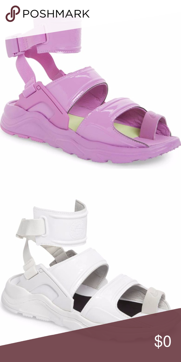 Shop Women's Nike size 8 Sandals at a discounted price at Poshmark.  Description: ISO New Nike Air Huarache Gladiator Sandal SIZE 8 in PINK or  WHITE!