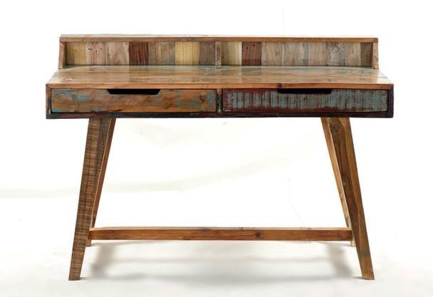 Vintage Schreibtisch Aus Indien Aus Recyceltem Holz Vintage Mobel Bei Mobelhaus Dusseldorf Vintage Schreibtische Shabby Altholz