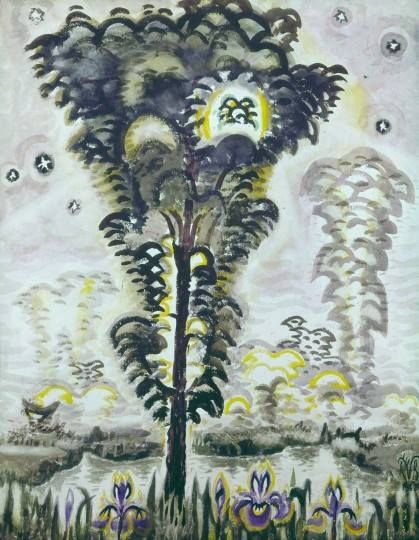 CHARLES BURCHFIELD May Song of the Swamp (1962)