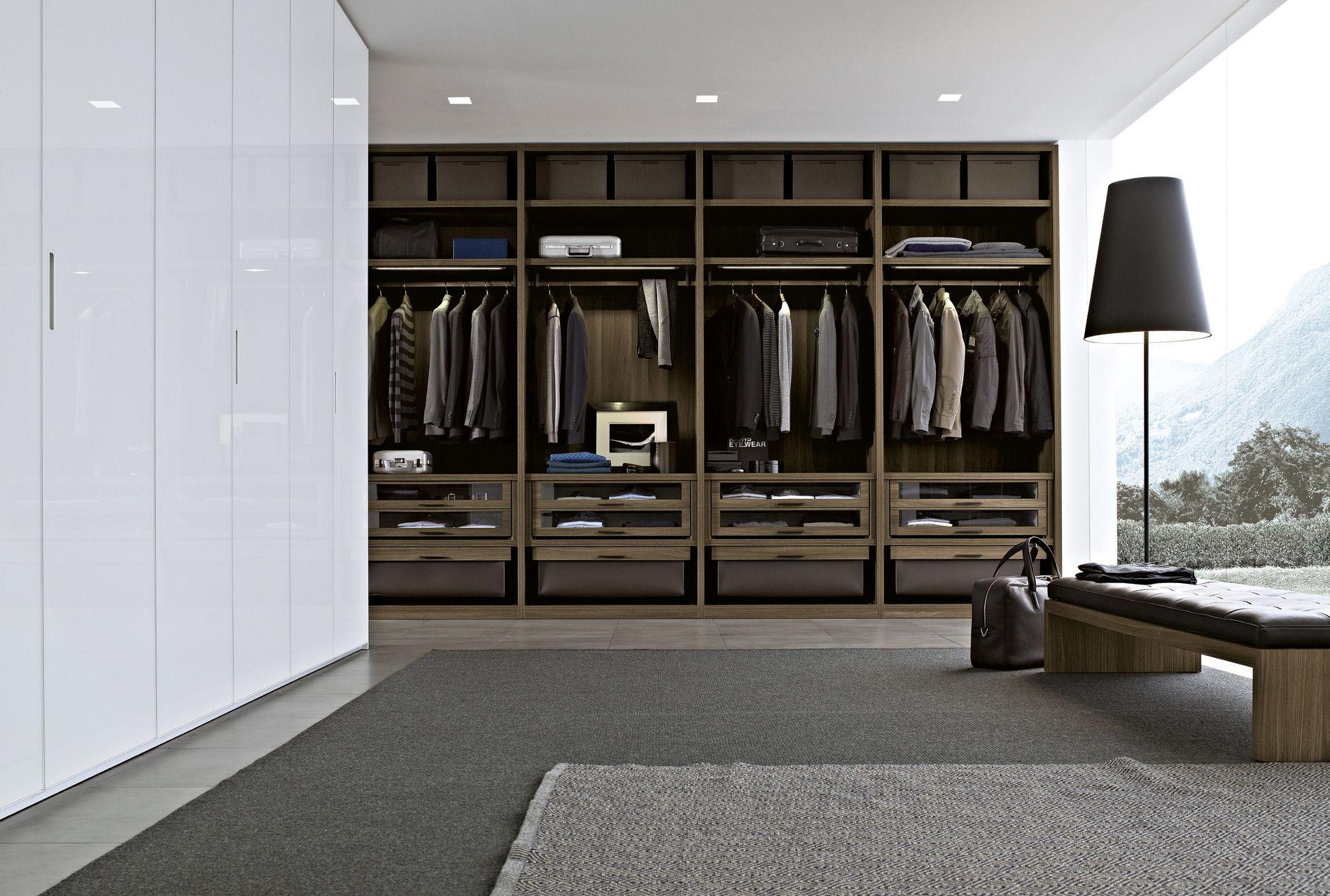 Sistemas de almacenaje y puertas para armarios y vestidores ...