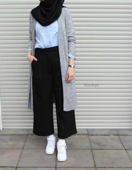 Mode lässig Hijabi Simple 33 Ideen
