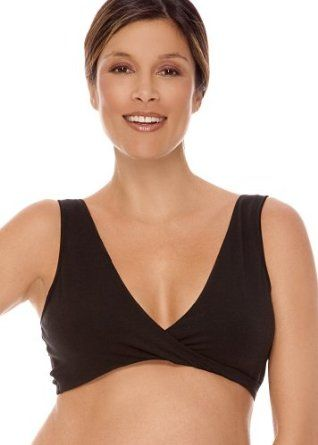 Lamaze Cotton Spandex Sleep Bra for Nursing and Maternity http ...