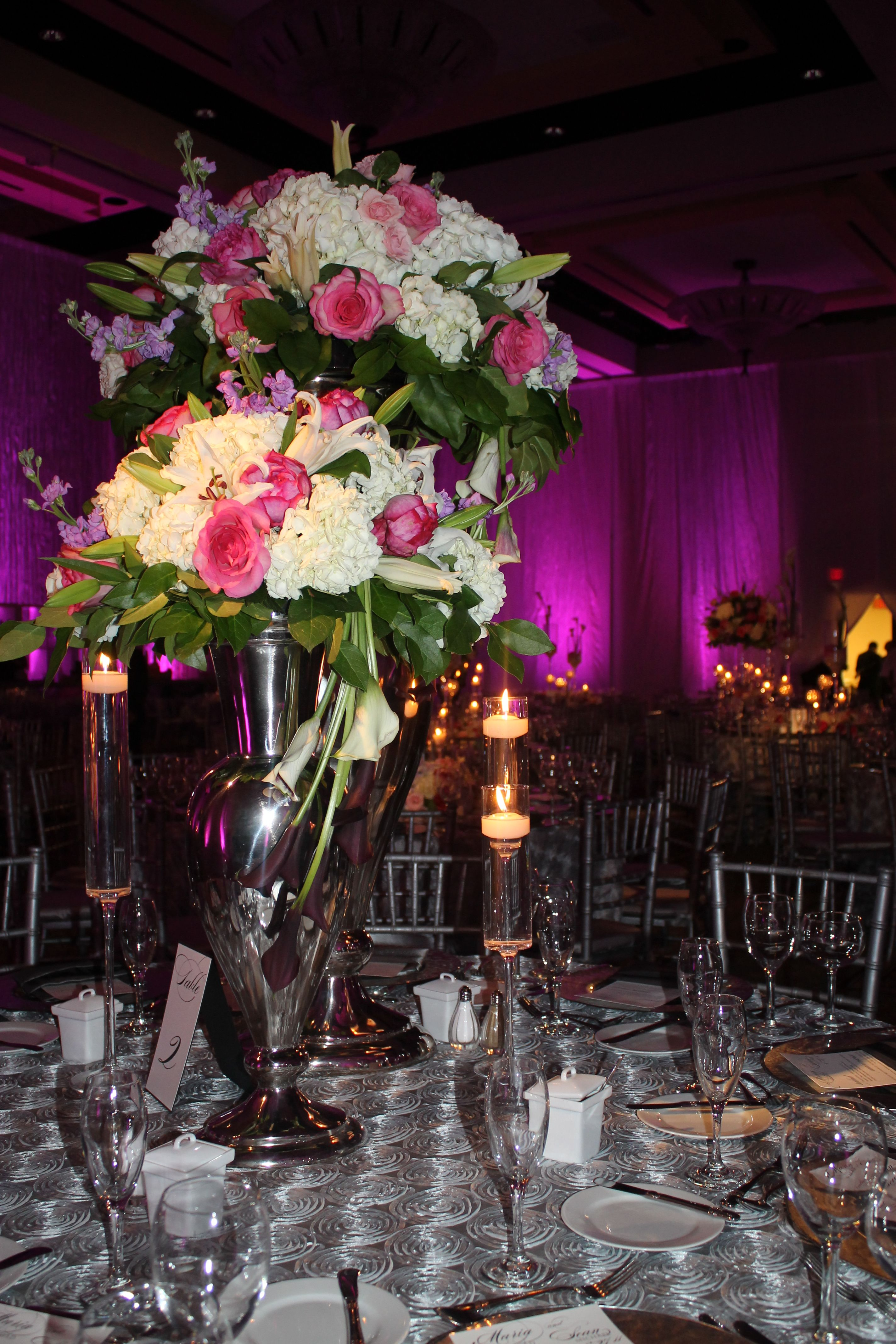 Destination wedding in Bonita Springs, FL. Flowers and