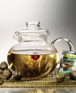 Flowering teas & Laroma Teapot