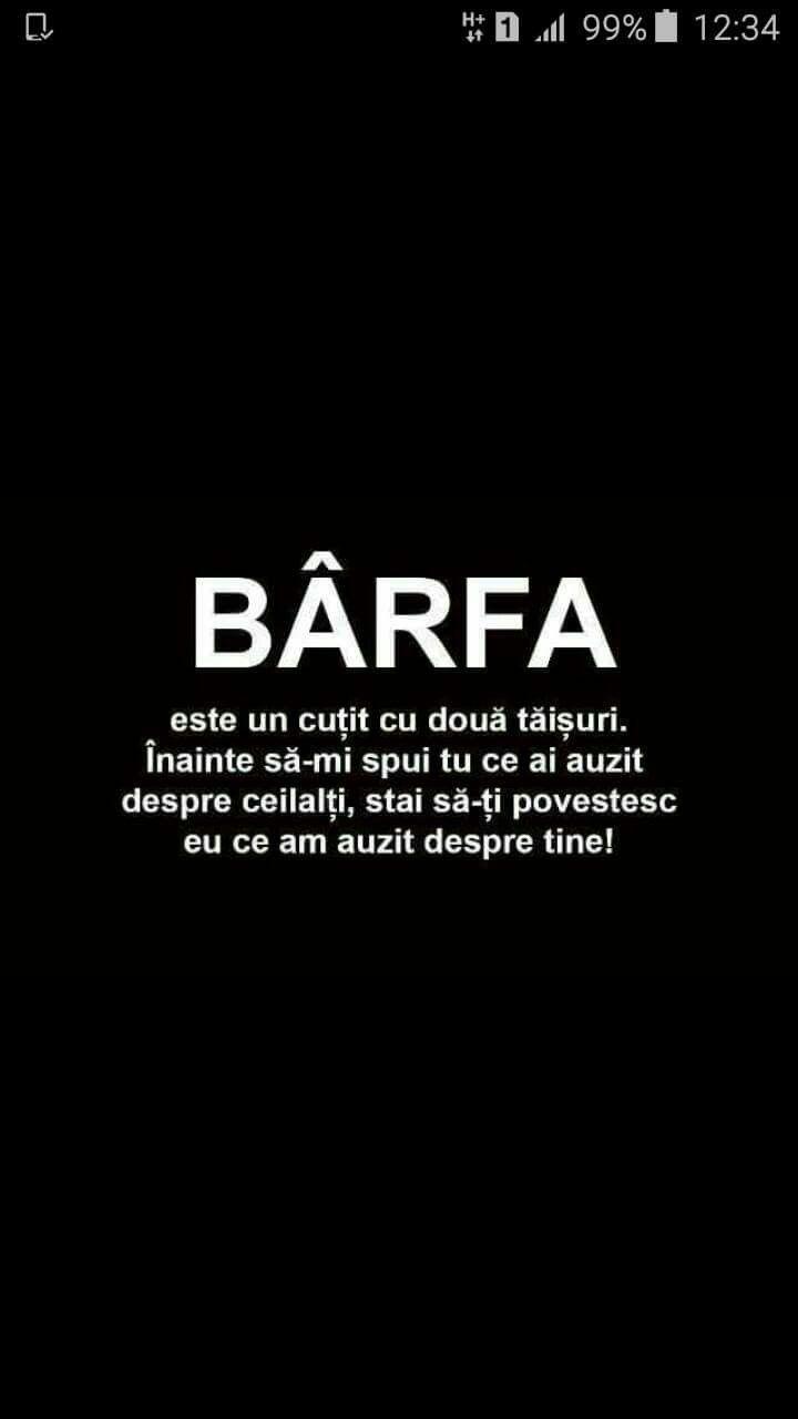 citate despre barfa Barfa cutit cu 2 taisuri. | citate | Quotes, Life Quotes, Me quotes citate despre barfa
