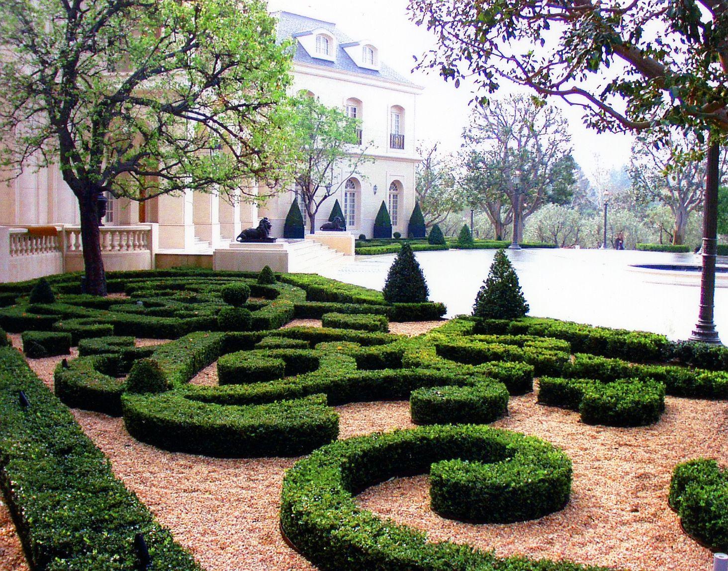 Selected Projects Garden Design Garden Hedges Topiary Garden