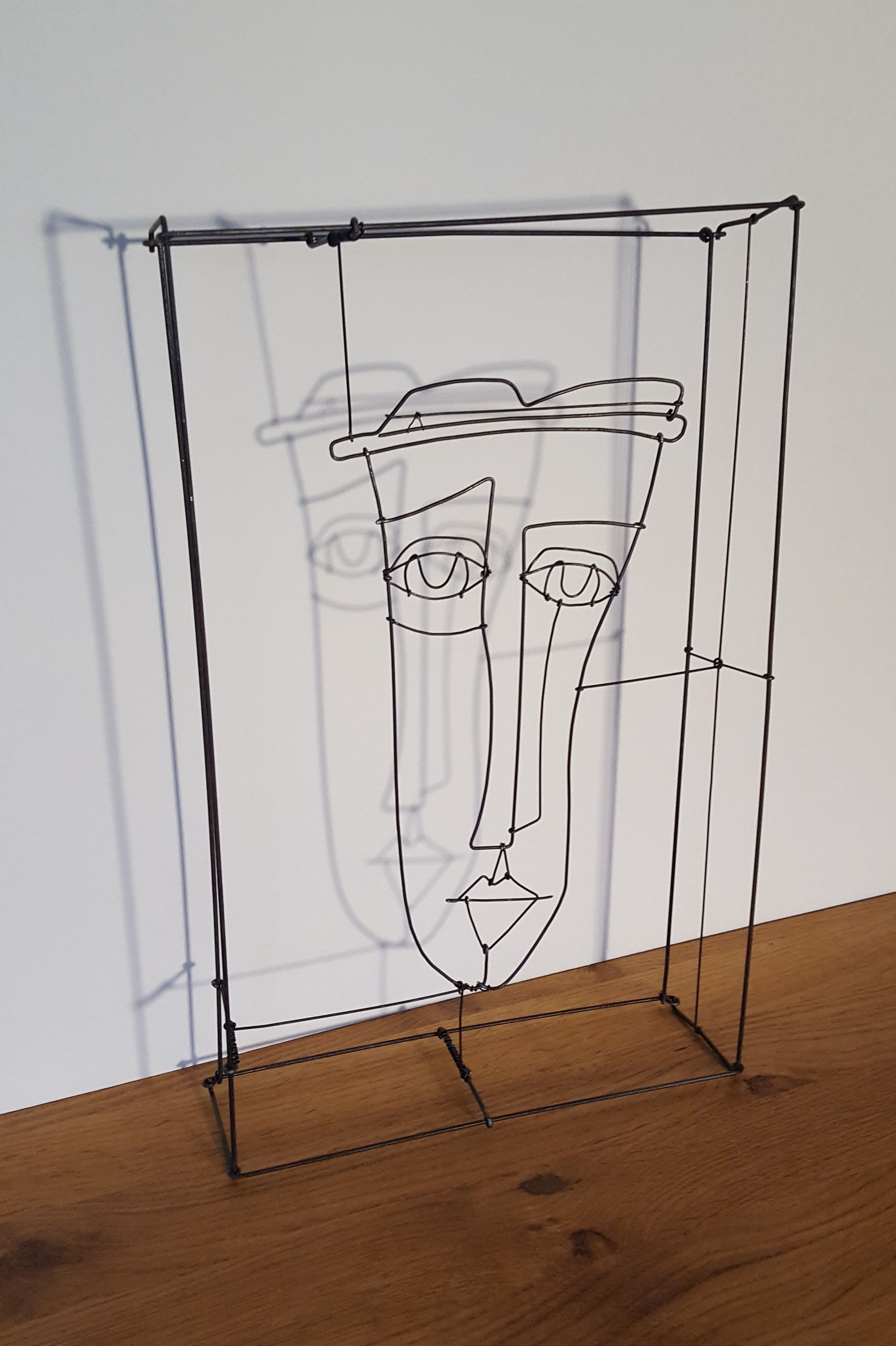 Drahtinform.de Jack | Wire Sculpture | Pinterest | Draht, Skulptur ...