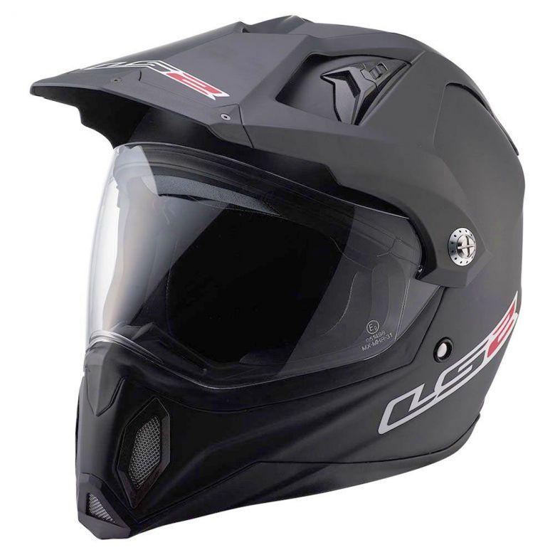 432b8ef8915 LS2 s MX453 Adventure Helmet gets it done with a lightweight fiberglass  Tricomposite shell