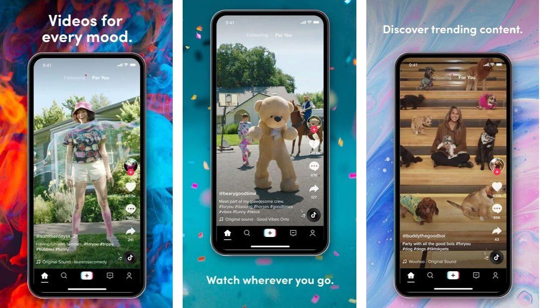 Tiktok V17 2 4 Premium Best Video Sharing Social Media App App Internet Speed Version