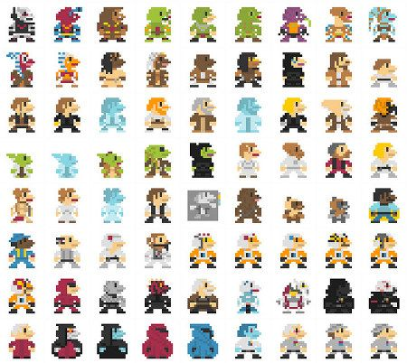 This Is A Massive Series Of Characters From Flickr User