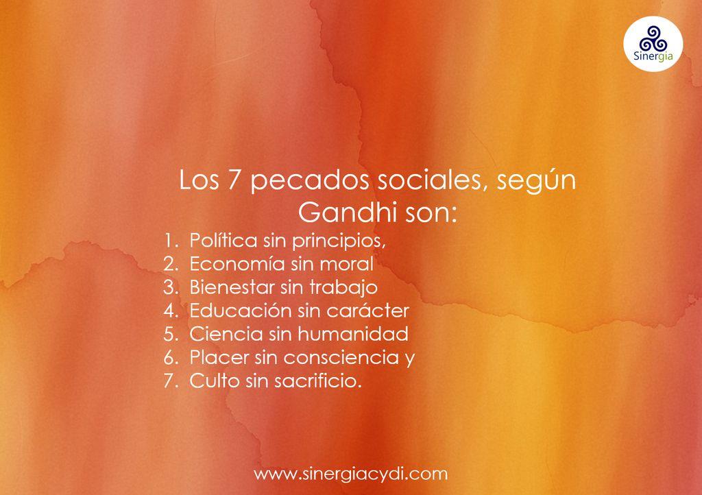 7pecados sociales