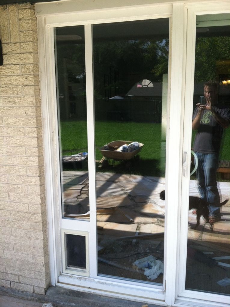 Dog Door Installation Sliding Glass Door Dog Door Installation