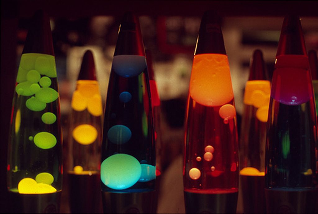 Lava Lamp  invented by Briton Edward Craven-Walker in ...