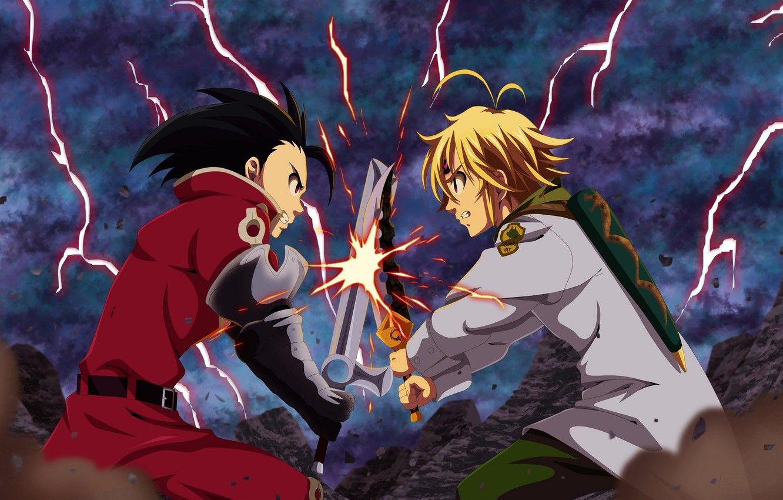 Wallpaper Hd Anime Nanatsu No Taizai Wallpaper Guys Rivals Nanatsu No Taizai The Seven Deadly Nanatsu No Taiz In 2020 Anime Seven Deadly Sins Anime Seven Deadly Sins