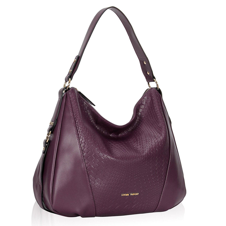 Women s Bags, Top-Handle Bags, Woven Pattern Hobo Bag Stylish Hobo  Crossbody Bag 2b1cfcfa38
