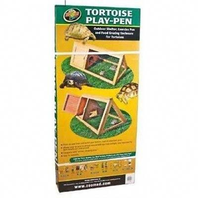Box Turtle Cage Outdoor Bearded Dragon Tortoise Play Pen House Zoo Med Backyard