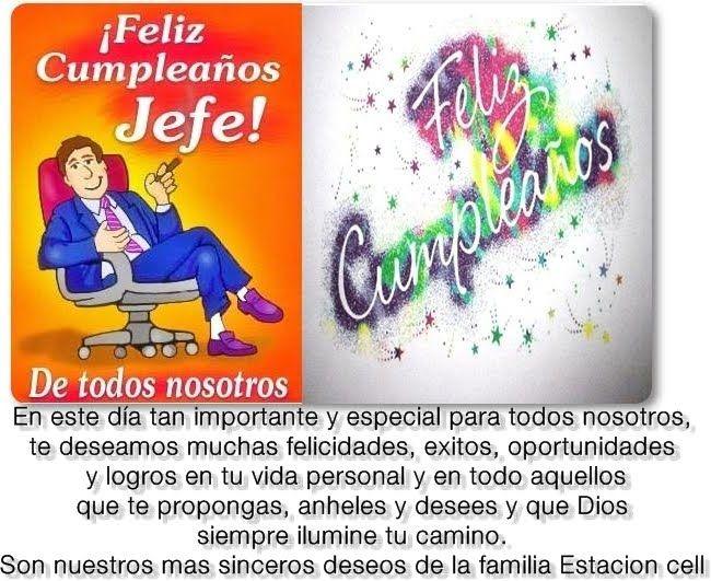 Imagenes de feliz cumpleanos jefe Imagenes nuevas para facebook Joel Rodriguez Sierra