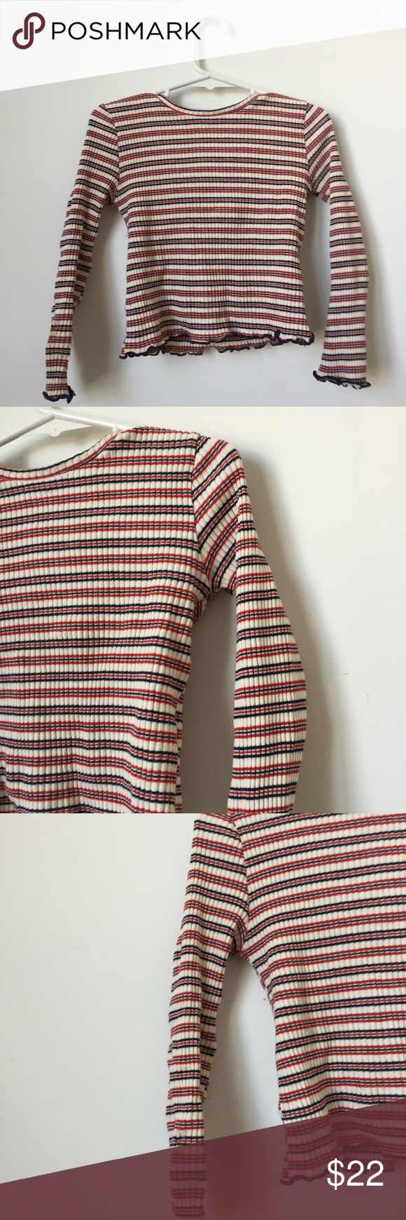 Zara Striped Top for Girls Zara Kids Collection. Red, White, Navy Blue Striped T... ,  #Blue #COLLECTION #Girls #KIDS #Navy #RED #STRIPED #top #White #ZARA #zarakidsred