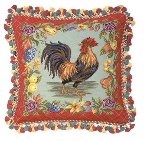 More Pillows With Roosters