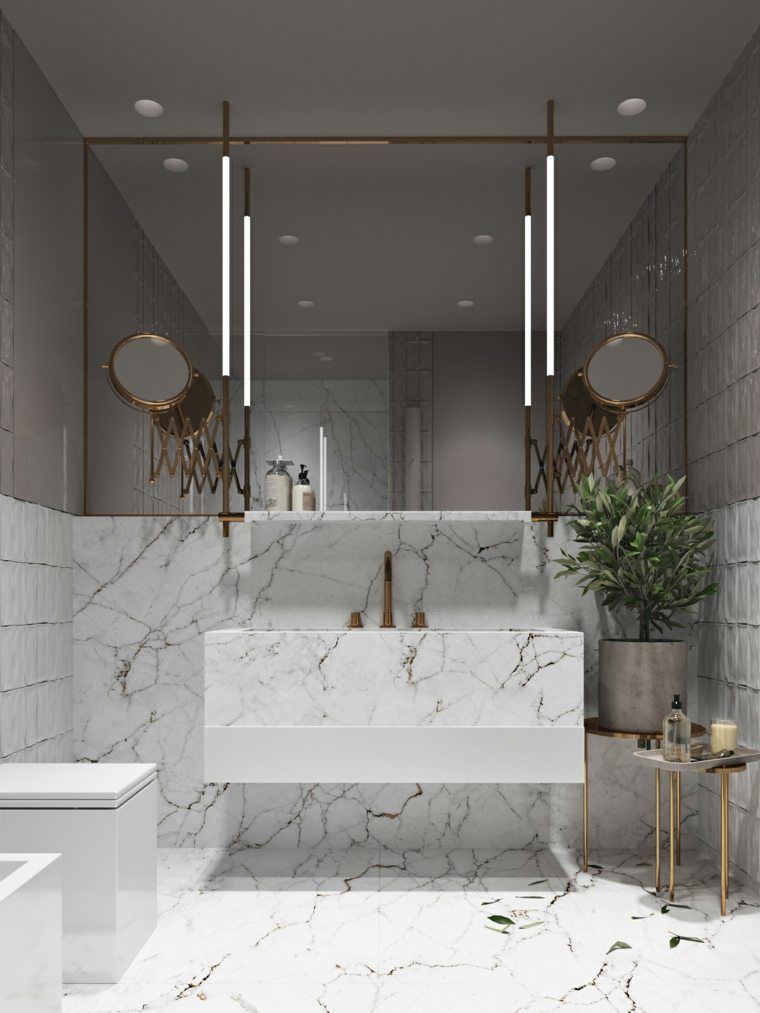 d corer son appartement d 39 une fa on ultra moderne en utilisant des l ments dor s sdb. Black Bedroom Furniture Sets. Home Design Ideas