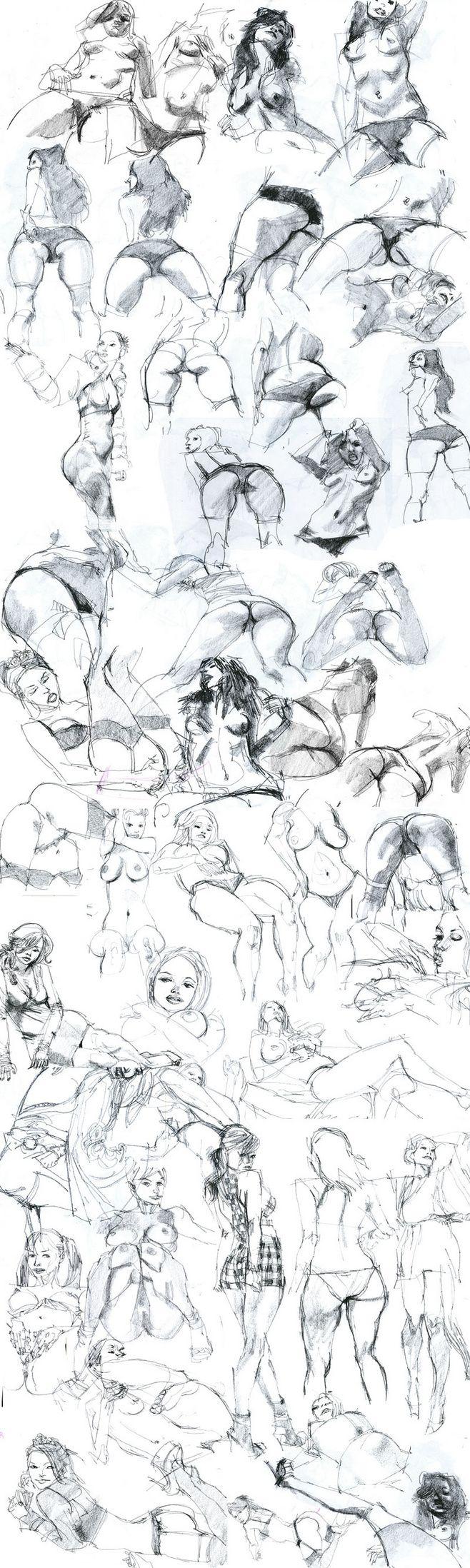 Pencil Sketches Part...