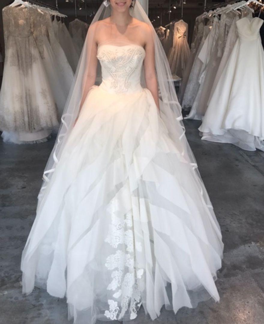 Vera Wang Liesel 220 Wedding Dress   New, Size 20, $20,62020 ...