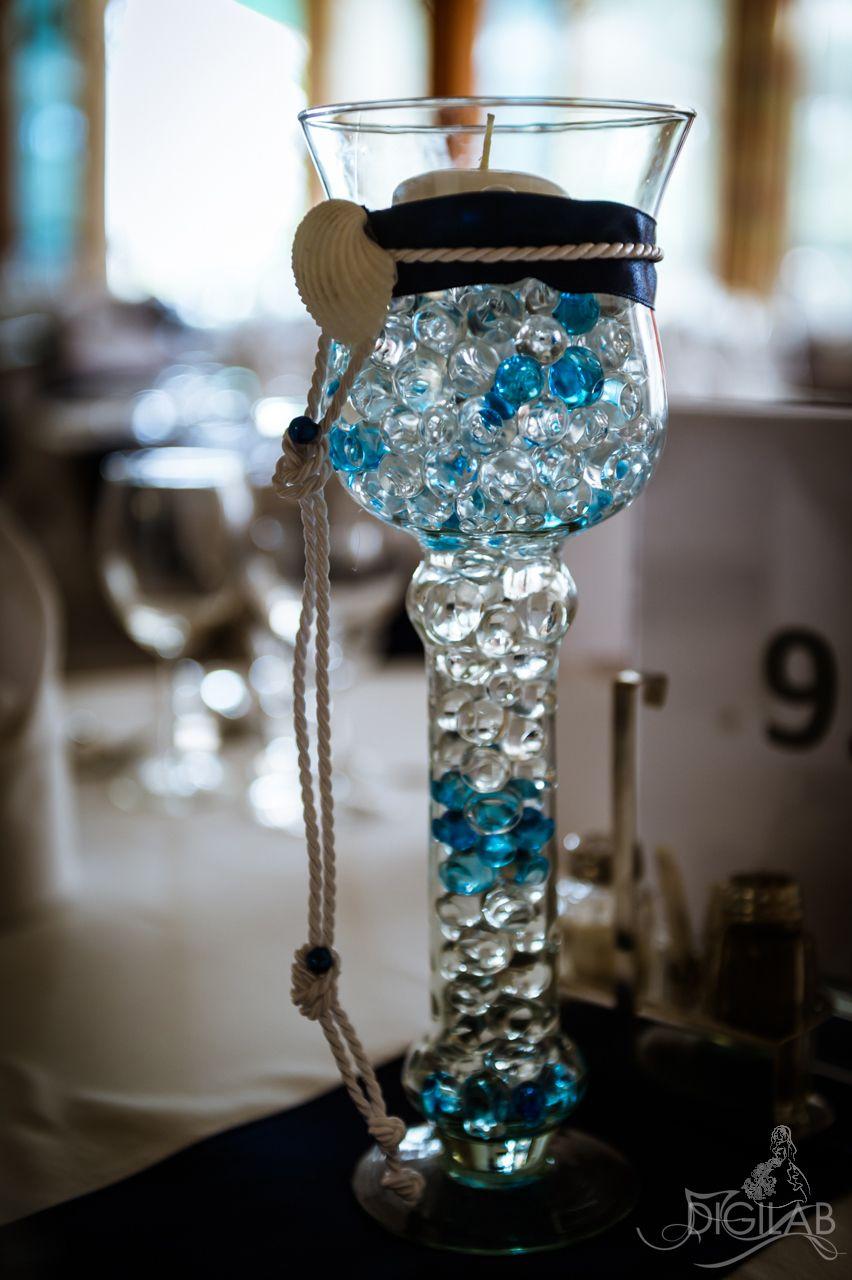 22c7a7d566 Asztaldísz, kék-fehér #eskuvo, #dekor, #kek | esküvő in 2019 ...