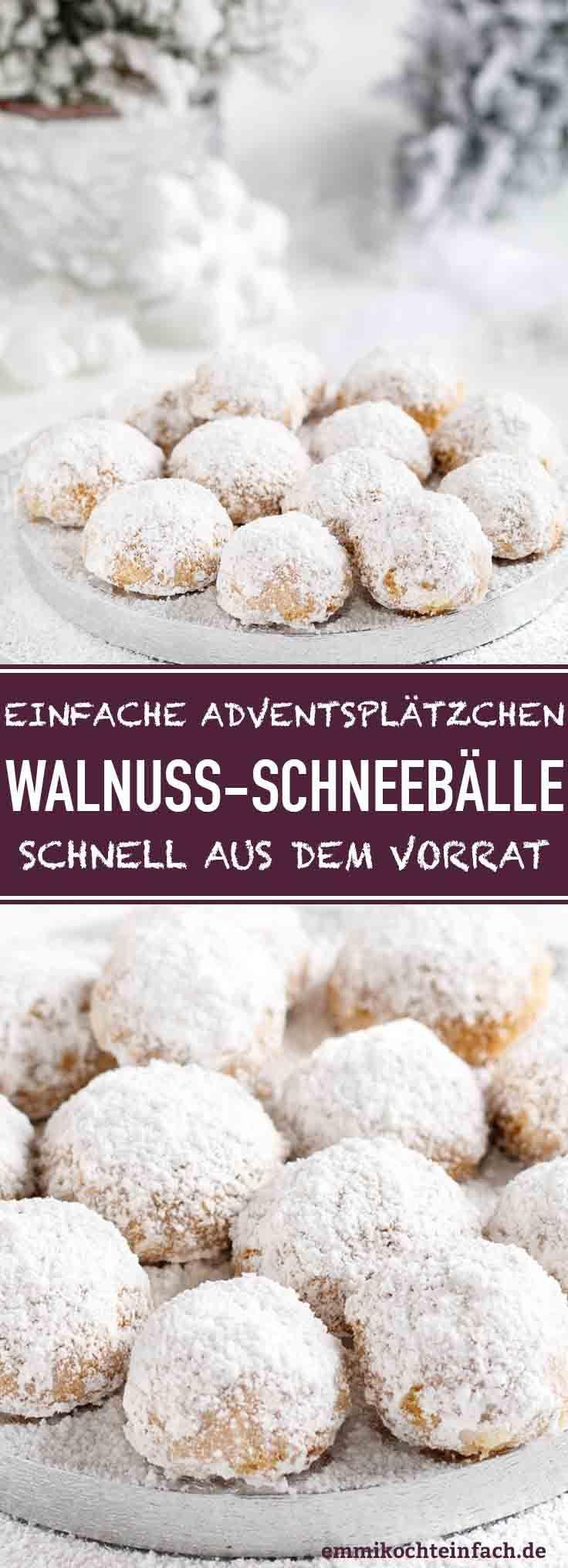 Photo of Walnuss Schneebälle – emmikochteinfach
