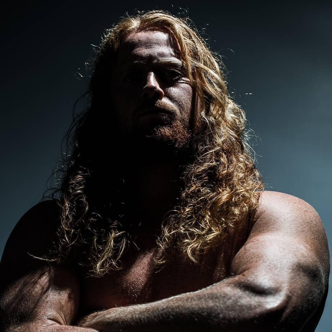 Here's a fun shot I captured of my good friend Kam. We were shooting some typical head shots and I suggested we shoot one that would look really sinister. Personality wise he's a super fun/nice guy but he's really strong and tough so he has the ability to look intimidating if he wants to get into character. #headshot #tough #ginger #portrait #intimidating #contrast #redhead #football #scary #fun #intimidation #big #shirtoff #ready #preparation #letsgo #sinister #strobe
