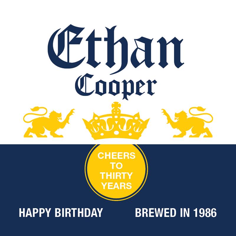 Corona Extra Birthday Beer Label Cumpleanos Cerveza Cerveza Corona Etiquetas De Cerveza