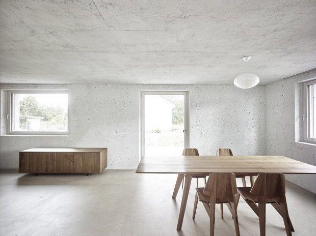 Cubic house en suisse par les architectes du bureau hdpf live