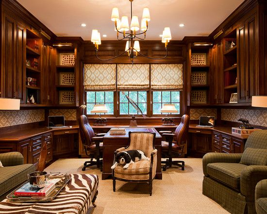 30 Best Traditional Home Office Design Ideas | Office designs ...