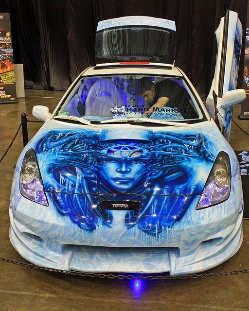 Car Paint Job >> Amazing Paint Job Front Cool Paint Jobs Car Painting Car Paint