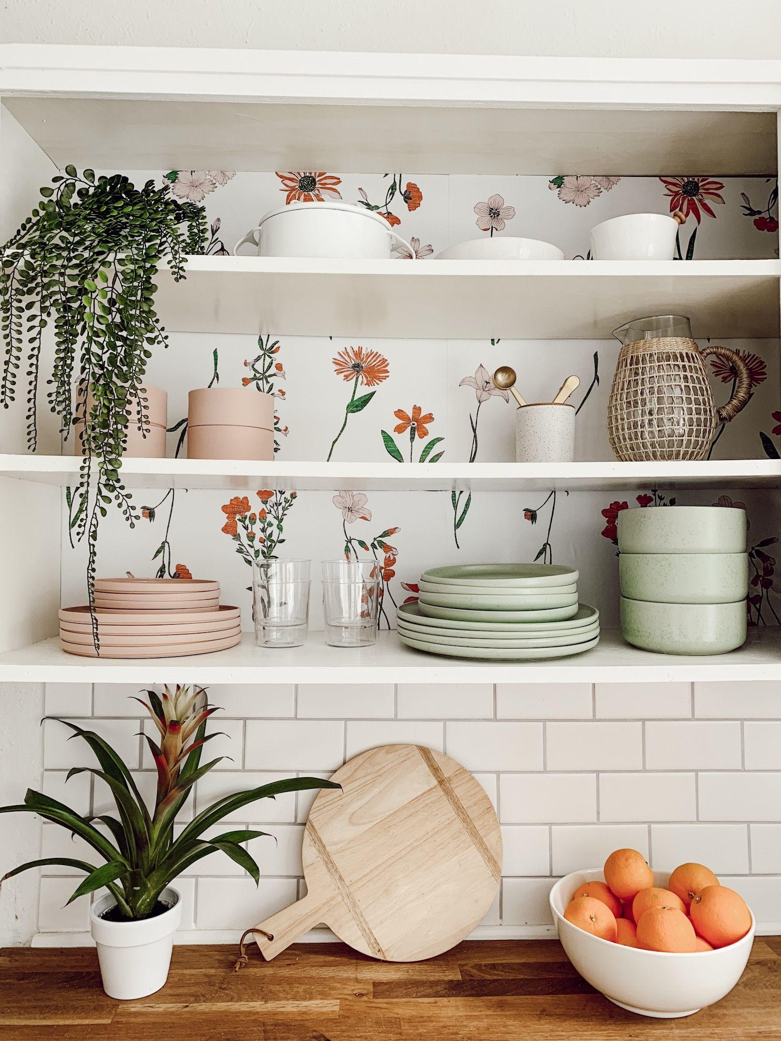 Floral Removable Wallpaper Kitchen wallpaper