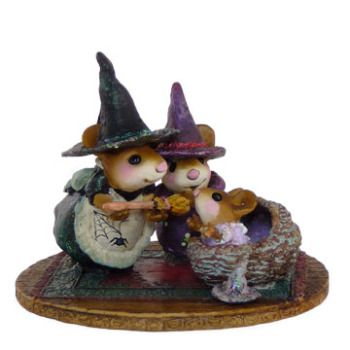 Halloween: Wee Forest Folk - Baby Witch's First Broom