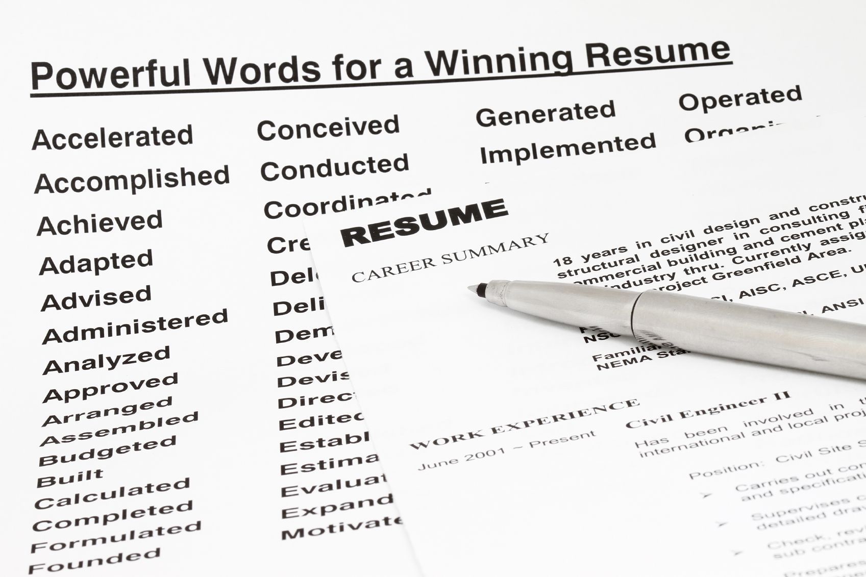 resume keywords and tips for using them business pinterest