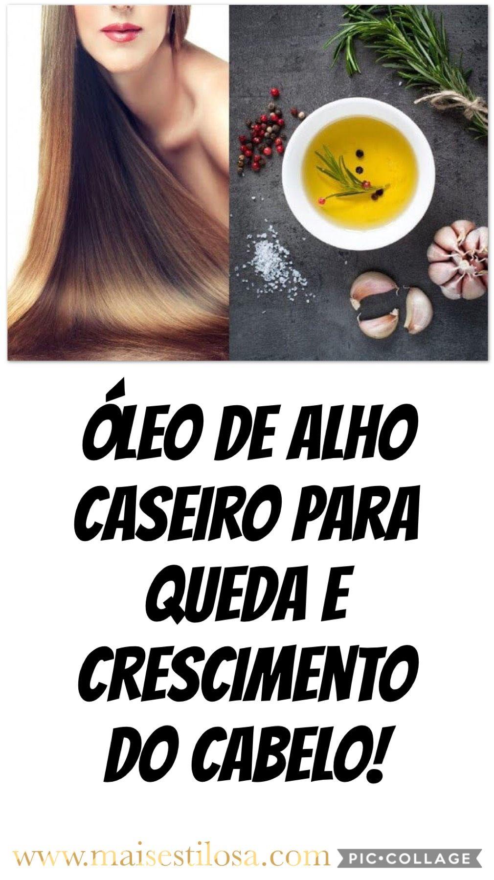 Oleo De Alho Caseiro Para Queda De Cabelo Oleo De Alho Produtos