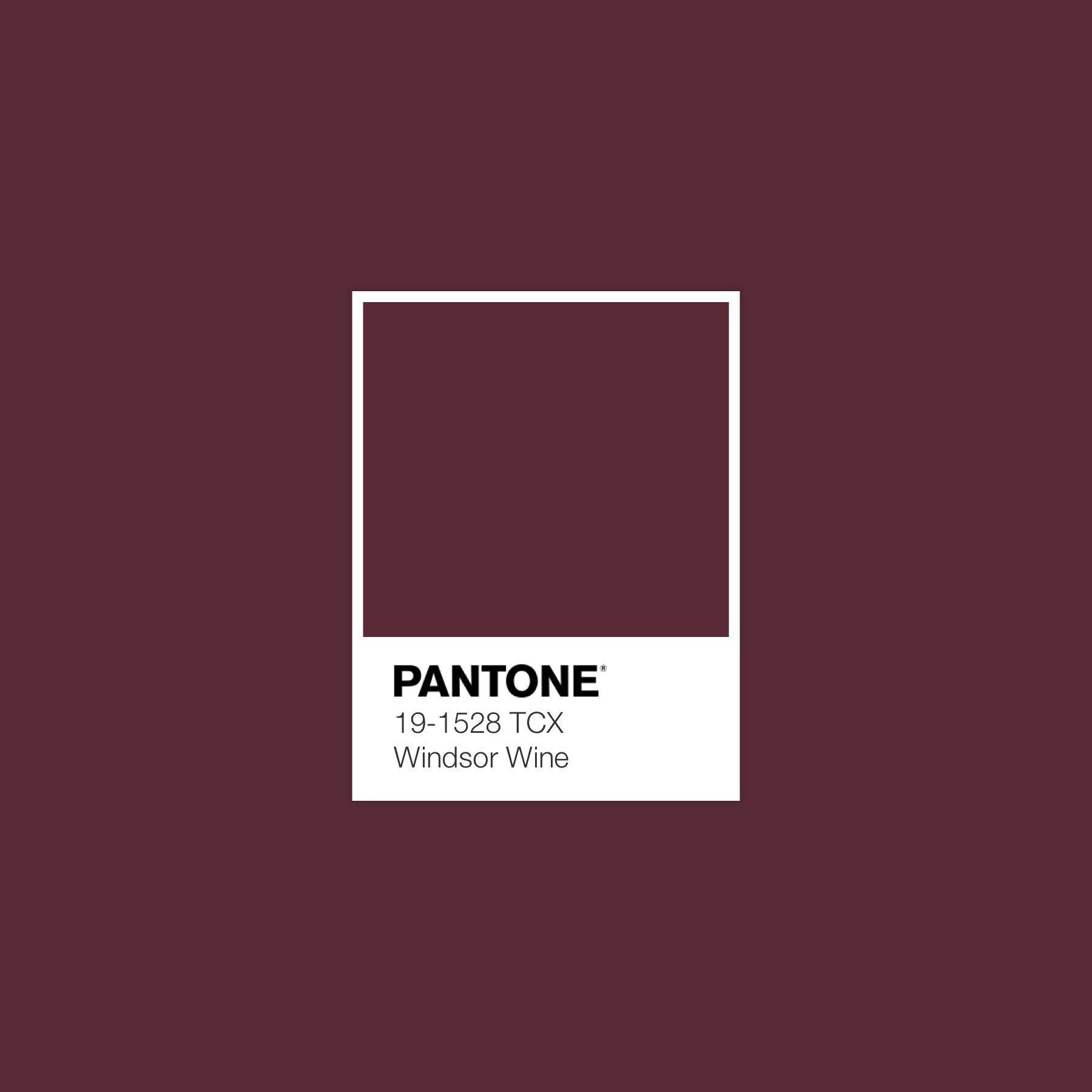 Windsor Wine Pantone Luxurydotcom Inspiracao De Cores Paleta De Cores Combinacoes De Cores